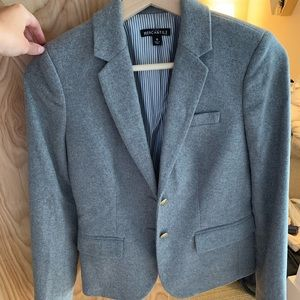 NWOT J. Crew grey wool blazer